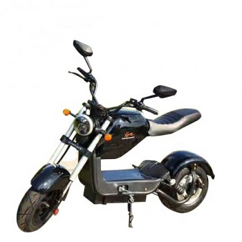 Электроскутер Citycoco Harley PRINCE 2000W, 60В 20Ah Черный