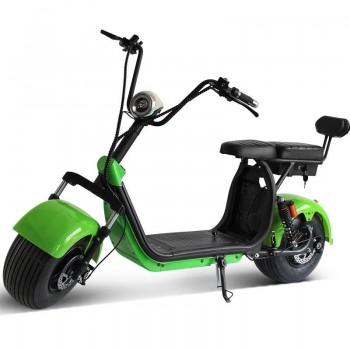Электроскутер Citycoco X7 2000W, 20А 60В  Зеленый
