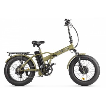 Электровелосипед VOLTECO BAD DUAL NEW Хаки