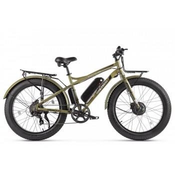 Электровелосипед VOLTECO BIGCAT DUAL NEW Хаки