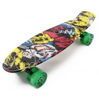 Пенни Борд с рисунком Zippy skateboards Ultra Led